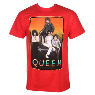 tričko pánské QUEEN - RED FRAME - BRAVADO, BRAVADO, Queen