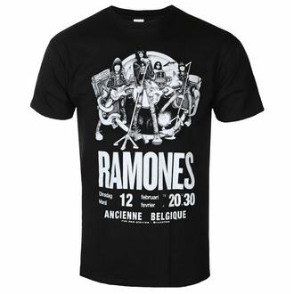 tričko pánské Ramones - Belgique - ROCK OFF - RAECOTS01MB