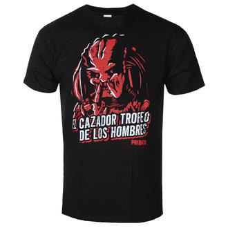 tričko pánské Predator - De Los Hombres - Black - HYBRIS - FOX-1-PRED006-H79-3-BK