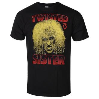 tričko pánské Twisted Sister - Dee Snider - Black - HYBRIS, HYBRIS, Twisted Sister