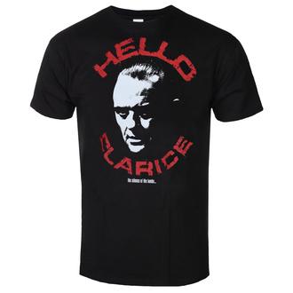 tričko pánské The Silence Of The Lambs - Hello Clarice - Black - HYBRIS, HYBRIS, Mlčení jehňátek