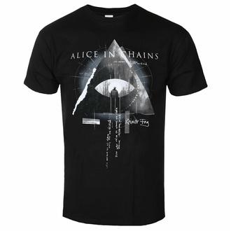 tričko pánské Alice In Chains - Fog Mountain - BLACK - ROCK OFF, ROCK OFF, Alice In Chains