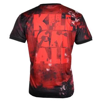 tričko pánské (technické) METALLICA - KILL EM ALL - BLACK - AMPLIFIED, AMPLIFIED, Metallica