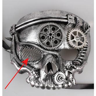 maska ZOELIBAT - Steampunk-Halbmaske Skull - POŠKOZENÁ, ZOELIBAT