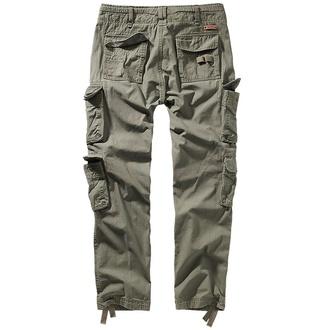 kalhoty pánské BRANDIT - Pure slim fit - 1016-olive