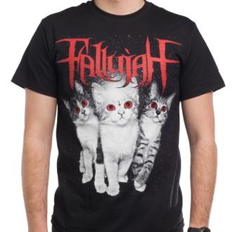 tričko pánské FALLUJAH - Cats - Black - INDIEMERCH, INDIEMERCH, Fallujah