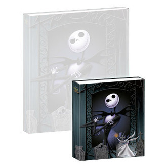 hrající notes Nightmare Before Christmas - Musical Mini-Notebook Jack & Zero - NBX27005