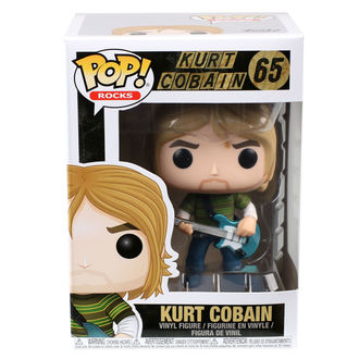 figurka Nirvana - POP! - Kurt Cobain, POP, Nirvana