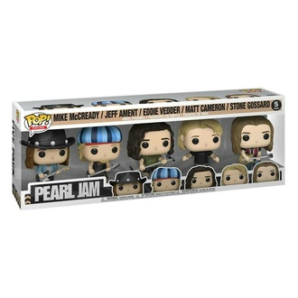 figurky (set) Pearl Jam - POP! - Rocks Vinyl, POP, Pearl Jam