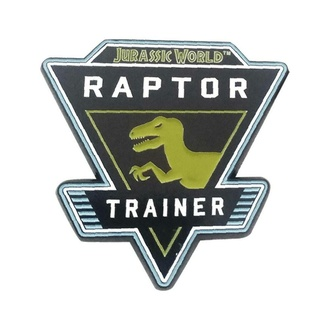 připínáček Jurský svět - Raptor, NNM, Jurský svět