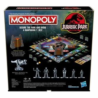 hra Jurský park - Monopoly - English Version, NNM, Jurský park
