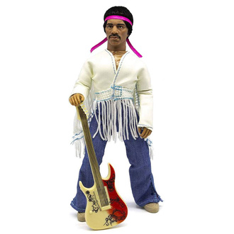 figurka Jimi Hendrix - Woodstock Flocked, NNM, Jimi Hendrix