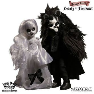 panenka Living Dead Dolls - Scary Tales Beauty and the Beast, LIVING DEAD DOLLS