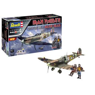 dekorace (model letadla) Iron Maiden - Model Kit 1/32 Spitfire Mk.II, NNM, Iron Maiden