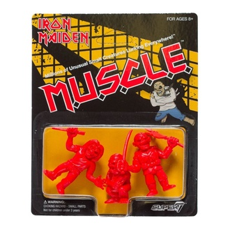 figurka (sada 3 kusů) Iron Maiden - MUSCLE - (Red) - SUP7-03069