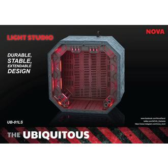 dekorace (dioráma) Ubiquitous Diorama Case with Lighting for Action Figures LS Edition, NNM
