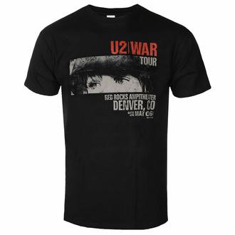 tričko pánské U2 - War Red Rocks - ROCK OFF, ROCK OFF, U2