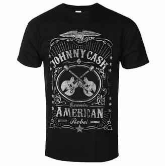 tričko pánské Johnny Cash - American Rebel - ROCK OFF, ROCK OFF, Johnny Cash