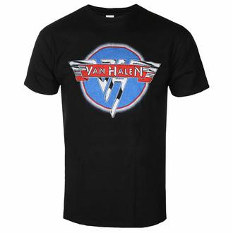 tričko pánské Van Halen - Chrome Logo - ROCK OFF, ROCK OFF, Van Halen