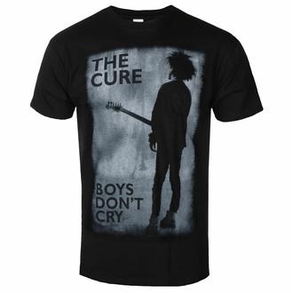 tričko pánské The Cure - Boys Don't Cry - BLACK - ROCK OFF, ROCK OFF, Cure