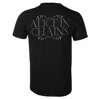 tričko pánské Alice In Chains - Moon Tree - Black - ROCK OFF, ROCK OFF, Alice In Chains