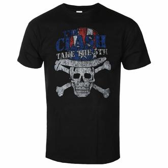 tričko pánské The Clash - Take The 5th - BLACK - ROCK OFF, ROCK OFF, Clash