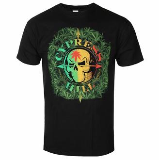 tričko pánské Cypress Hill - South Gate Logo & Leaves - ROCK OFF, ROCK OFF, Cypress Hill