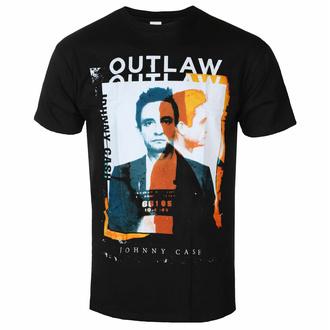 tričko pánské Johnny Cash - Outlaw Photo - ROCK OFF, ROCK OFF, Johnny Cash