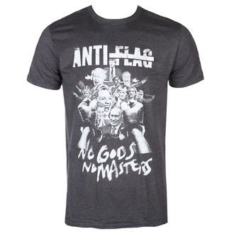 tričko pánské Anti Flag - No Gods, No Masters - Dark Heather - KINGS ROAD, KINGS ROAD, Anti-Flag