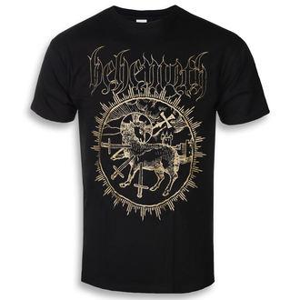 tričko pánské Behemoth - Inverted Cross - Black - KINGS ROAD - 20118274