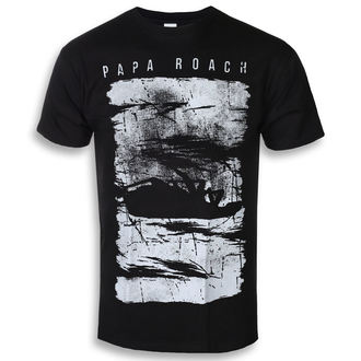 tričko pánské Papa Roach - Distress - Black - KINGS ROAD, KINGS ROAD, Papa Roach