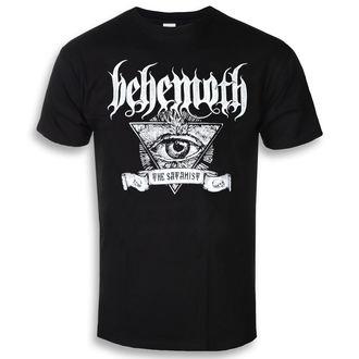 tričko pánské Behemoth - Satanist Banner - Black - KINGS ROAD - 20110326