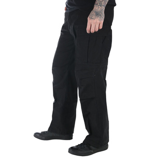 kalhoty pánské MMB - M65 Pant NYCO washed - Black - 200201