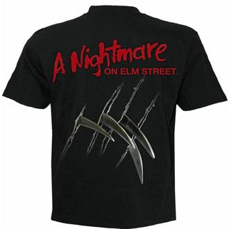 tričko pánské SPIRAL - A Nightmare On Elm Street - FREDDY CLAWS ELM STREET - Black, SPIRAL, Noční můra z Elm Street