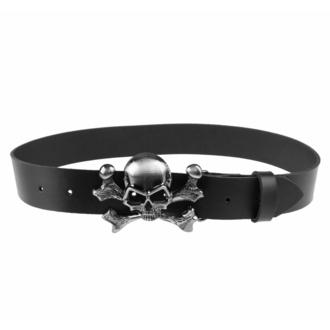 pásek Skull, BLACK & METAL