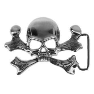 přezka Skull, BLACK & METAL