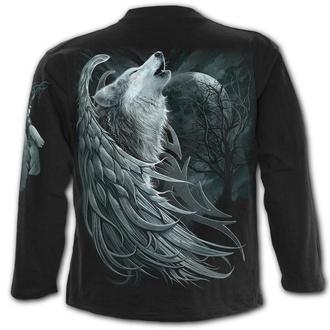 tričko pánské s dlouhým rukávem SPIRAL - WOLF SPIRIT, SPIRAL