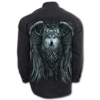 košile pánská s dlouhým rukávem SPIRAL - WOLF SPIRIT, SPIRAL