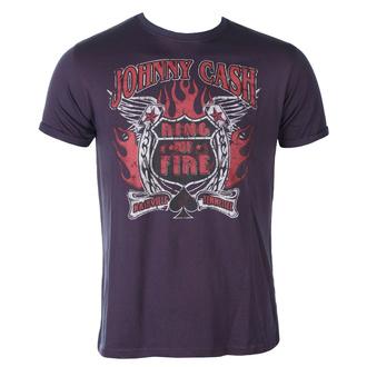 tričko pánské Johnny Cash - Ring Of Fire BO - ROCK OFF, ROCK OFF, Johnny Cash