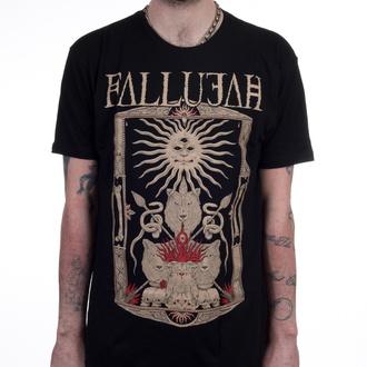 tričko pánské FALLUJAH - Wolves - Black - INDIEMERCH, INDIEMERCH, Fallujah