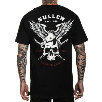 tričko pánské SULLEN - LINCOLN EAGLE - BLACK - SCM3205_BK