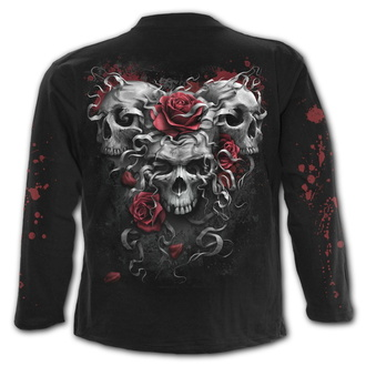 tričko pánské s dlouhým rukávem SPIRAL - SKULLS N' ROSES, SPIRAL