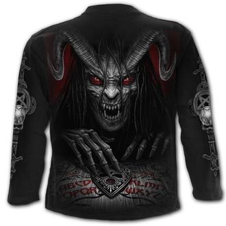 tričko pánské s dlouhým rukávem SPIRAL - Black, SPIRAL