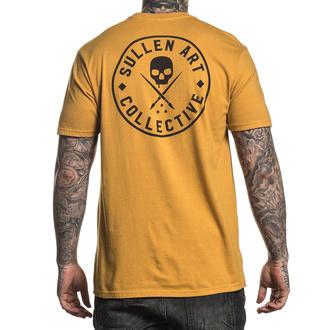 tričko pánské SULLEN - EVER - MUSTARD - SCM2814_MUST