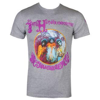 tričko pánské JIMI HENDRIX - AYE - HEATHER GRY - BRAVADO, BRAVADO, Jimi Hendrix