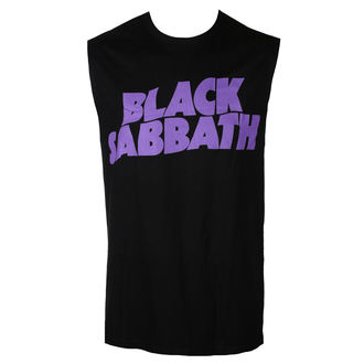 tílko pánské BLACK SABBATH - PURPLE LGO - BRAVADO, BRAVADO, Black Sabbath
