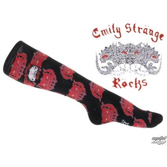 ponožky (podkolenka) EMILY THE STRANGE, EMILY THE STRANGE
