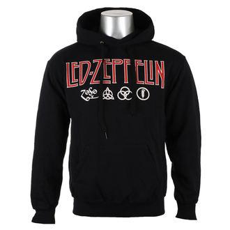 mikina pánská LED ZEPPELIN - LOGO & SYMBOLS - PLASTIC HEAD, PLASTIC HEAD, Led Zeppelin