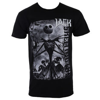 tričko pánské THE NIGHTMARE BEFORE CHRISTMAS – SKELLINGTON - BILNBC00033