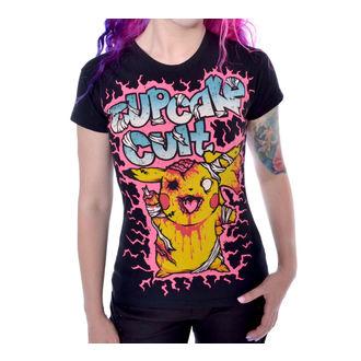 tričko dámské POIZEN INDUSTRIES - Zombie - Blk, CUPCAKE CULT